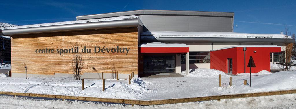 centre sportif du Dévoluy à superdévoluy