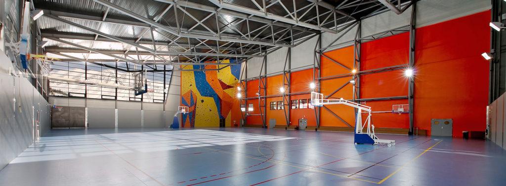 centre sportif du Dévoluy gymnase