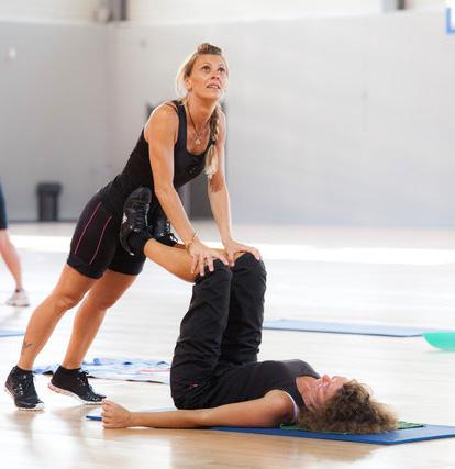 stretching centre sportif du dévoluy